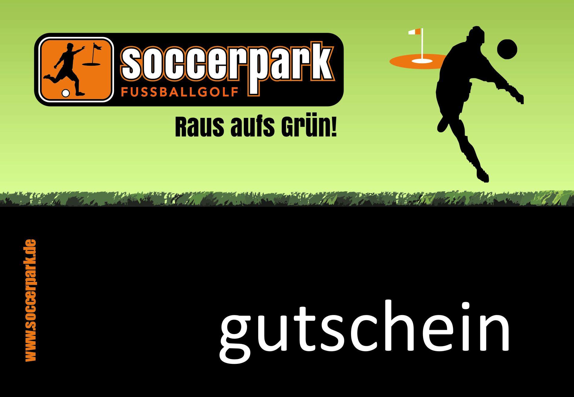 Soccerpark Westfalen Geschenk Gutscheine