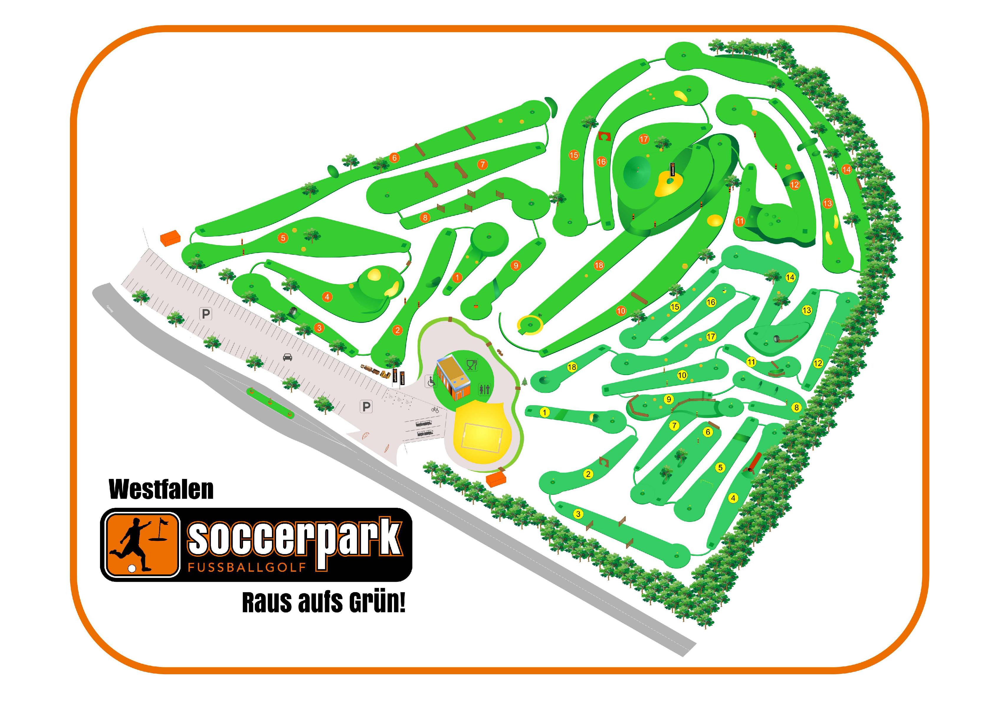 Soccerpark Westfalen Unsere Anlage